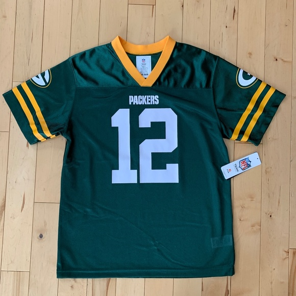 19fc4fbbb1f NFL Shirts & Tops | Aaron Rodgers Green Bay Packers Jersey Xl 16 18 ...